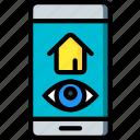 app, home, smart icon