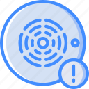alarm, alert, home, smart, smoke icon