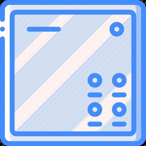 home, intercom, smart icon