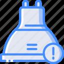 alert, home, lightbulb, smart icon