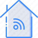 home, smart, wifi icon