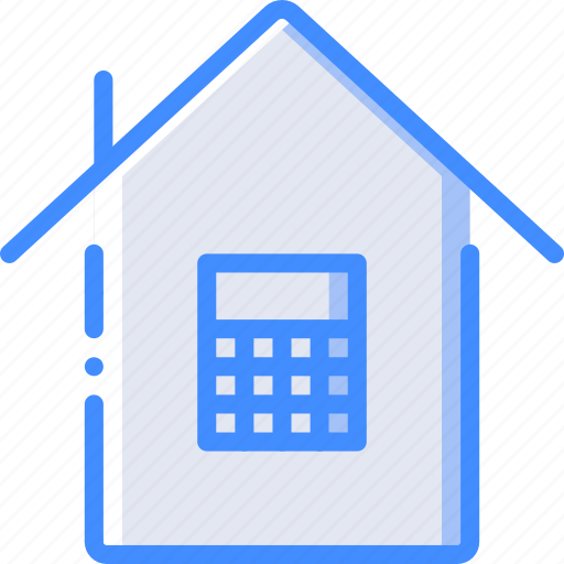 calculator, costs, home, smart icon