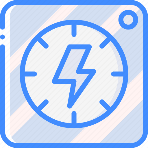 dial, home, power, smart icon