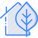 eco, home, smart icon