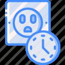 home, plug, smart, timer icon