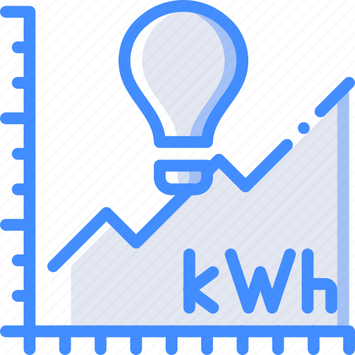 chart, home, power, smart, usage icon