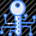 home, key, samrt, smart icon