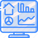 dashboard, home, monitor, smart icon