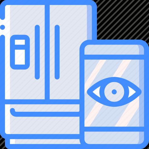 fridge, home, remote, smart icon