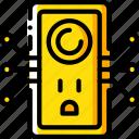 home, plug, smart, us icon