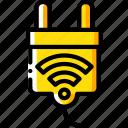 home, plug, smart icon
