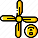 air, con, home, smart, wifi icon