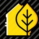 eco, home, smart icon
