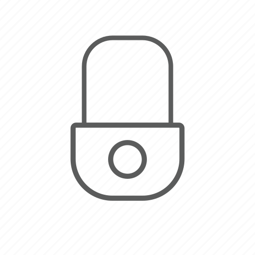 house, lock, smart icon
