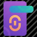 door, electronic, house, smart, technology icon
