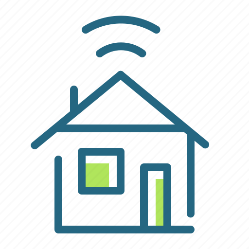 connection, house, internet, wi fi icon