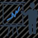 analytics, business, presentation, report, statistics icon