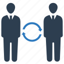 business, communication, connection, contact, conversation icon