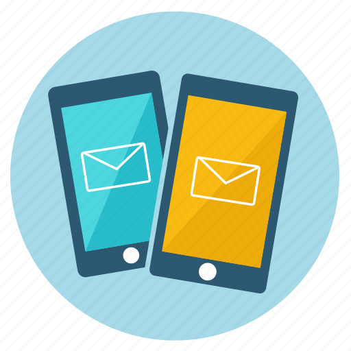 chat, crisp, iphone, mail, message, send, smartphone icon