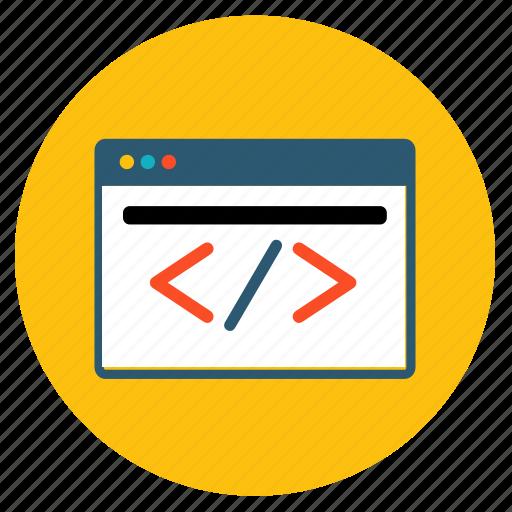 code, create, css, design, html, web, webdesign icon