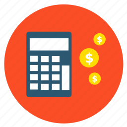 basket, buy, calculator, cash, finance, money, shopping icon