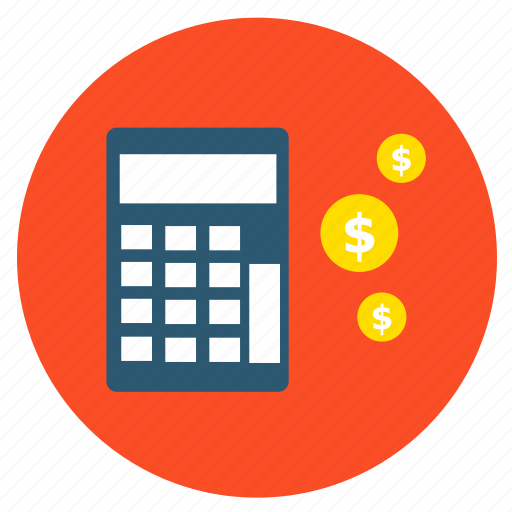 basket, buy, calculator, cash, finance, money, shopping icon