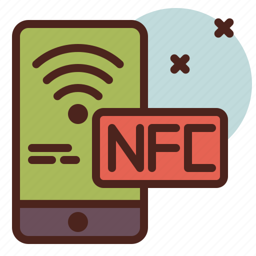 mobile, nfc, payment, transfer, wifi icon
