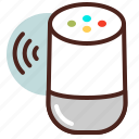 command, google, home, voice icon