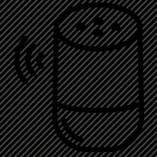 command, google, home, voice icon