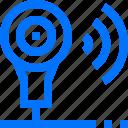camera, smart, technology, video, webcam, wifi, wireless icon