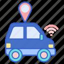 autonomous, car, vehicle icon