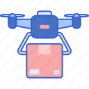 delivery, drone, package