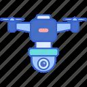drone, surveilance, technology