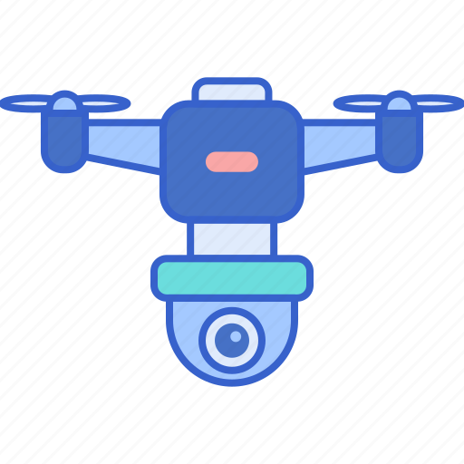 drone, surveilance, technology icon