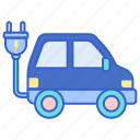 car, electric, vehicle icon