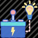 control, energy, intelligent icon