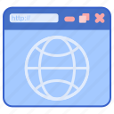 browser, internet, web icon