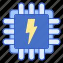 energy, power, processor icon