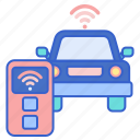 car, remote, vehicle icon
