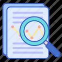 analysis, research, statistics icon