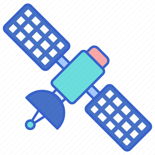 network, satellite, technology icon