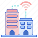 apartment, buildings, smart icon