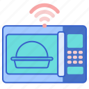 microwave, smart, technology icon