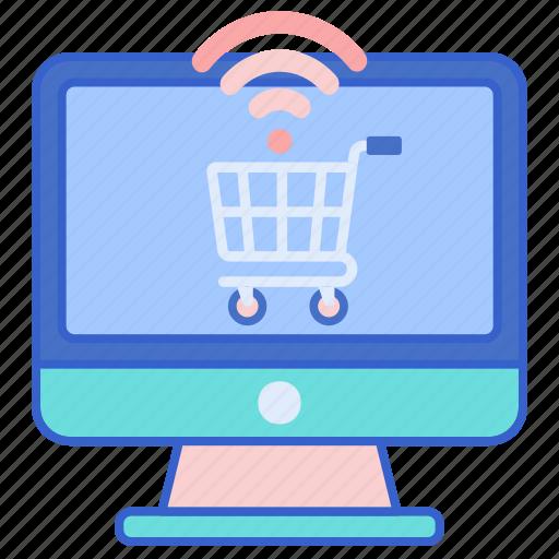 cart, shopping, smart icon