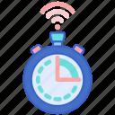 clock, smart, timer icon
