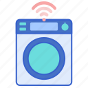 machine, smart, washing icon
