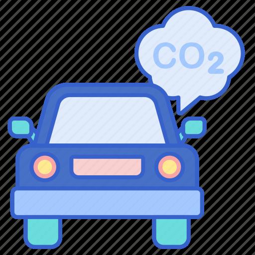 car, carbon, vehicle icon