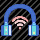 headphone, headset, wireless