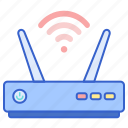 modem, router, wireless icon