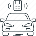 automobile, car, control, remote, vehicle icon